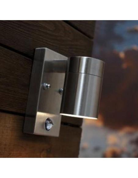 Sieninis LED lauko šviestuvas su judesio davikliu - Renex PIR