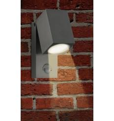 Sieninis LED lauko šviestuvas su judesio davikliu - Renex Flexi PIR
