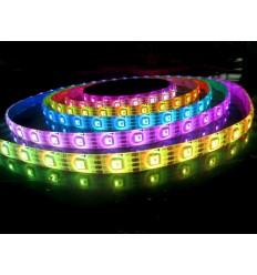 RGB LED juostelė 5050 SMD/m - IP65