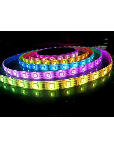 RGB LED juosta 5050 SMD/m - IP65