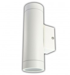 Sieninis LED lauko šviestuvas - Lumi White