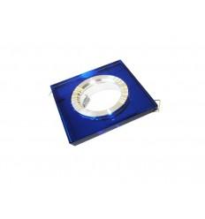 Stiklinis rėmelis LED lemputei į lubas - Blue
