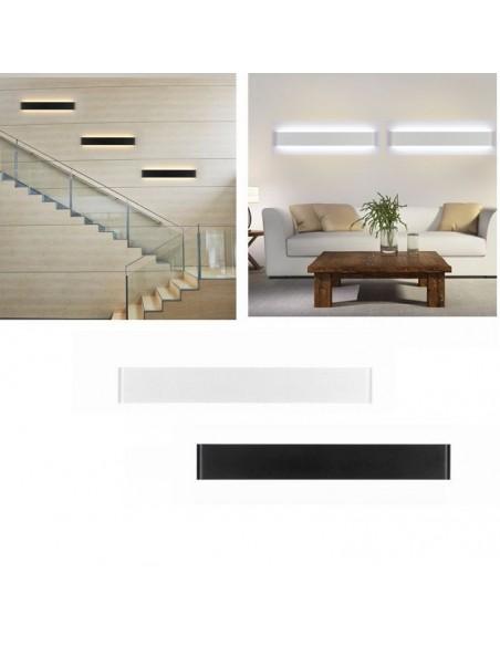 Sieninis LED šviestuvas - Long Black