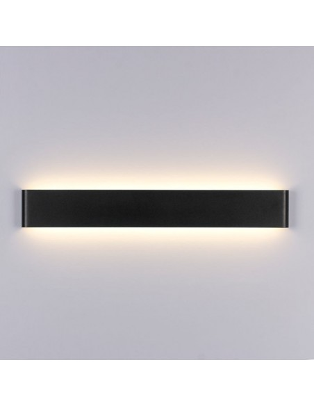 Sieninis LED šviestuvas - Long Black 14W