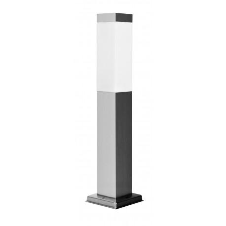 Pastatomas LED Lauko šviestuvas - Lumi Quad Silver 45cm