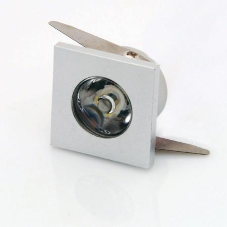 Įleidžiamas LED šviestuvas 1W -SPOT-S