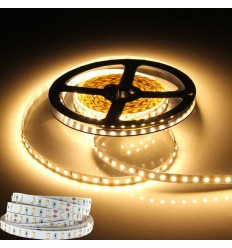 24V LED juosta 22W/m - IP20 - 120SMD/m - 3000K