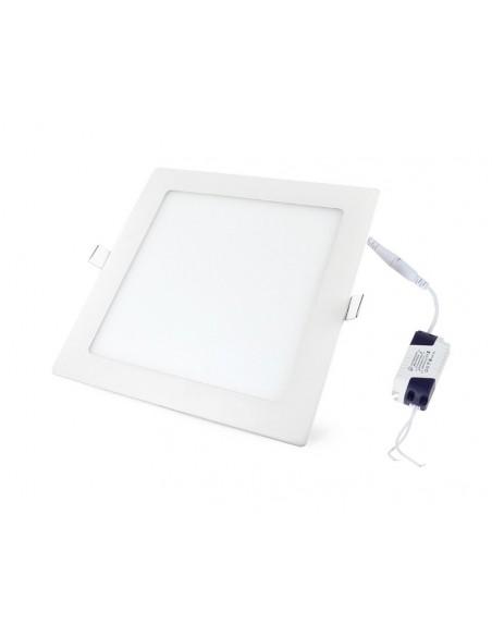 Įleidžiama LED panelė - 9W kvadratas šiltai balta 3000K