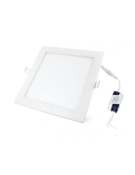 LED panelė - 9W kvadratas neutrali balta 4500K