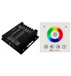 Šviesos intensyvumo reguliatorius LED juostelei - 3 x 8A Dimmer