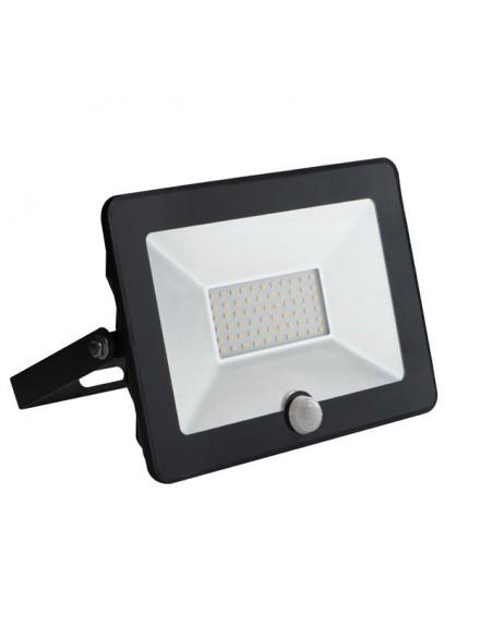 LED prožektorius su judesio davikliu - Kanlux MilEDO 30W