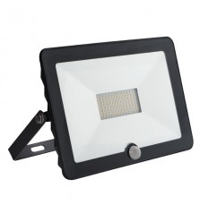 LED prožektorius MiLEDo 50W su judesio davikliu - 4500K