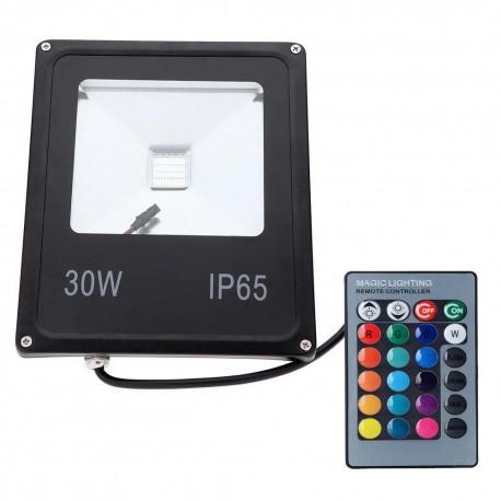 LED prožektorius RGB - 30W