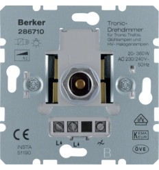 Šviesos reguliatorius - Berker 20W-360W