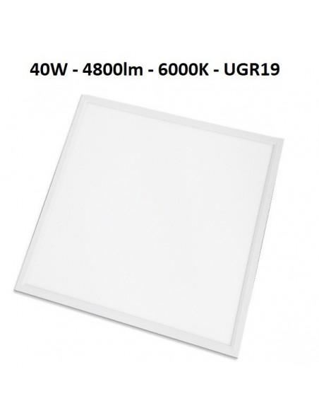 LED panelė 60x60cm armstrong luboms - 40W - 4800lm - 6000K - UGR19