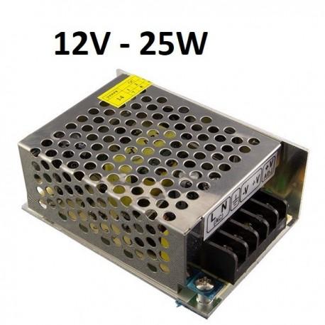 LED maitinimo šaltinis 12V - 25W