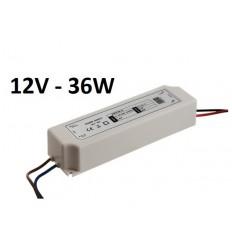 LED maitinimo šaltinis 12V - 36W