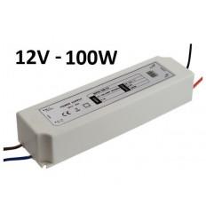 Profesionalus LED maitinimo šaltinis 12V - 100W