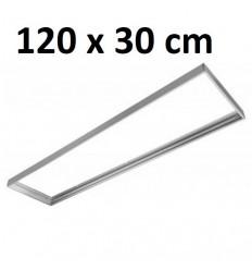 Rėmas LED panelei 120 x 30cm išoriniam montavimui