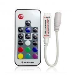RGB LED juostos valdymo pultas 3 x 2A