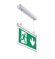 Avarinio išėjimo LED šviestuvas - EXIT Hang