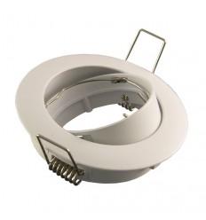 Rėmelis LED lemputei į lubas - Balta matinis