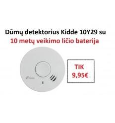 Dūmų detektorius Kidde 10Y29 su 10 metų veikimo baterija