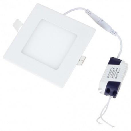 Įleidžiama LED panelė - 3W kvadratas šiltai balta 3000K
