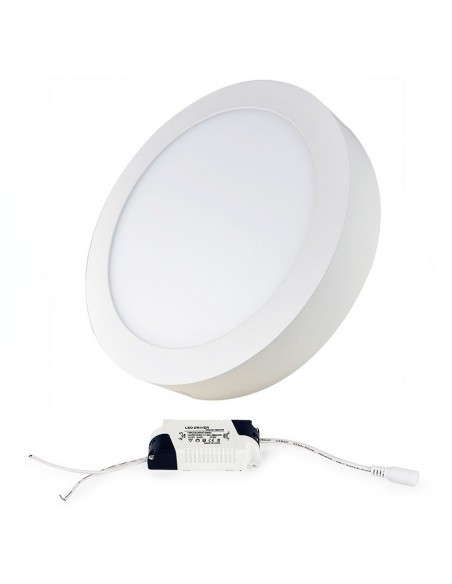 Virštinkinė LED panelė - 24W apvali