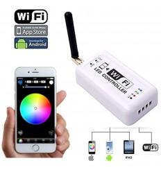 WiFi RGB LED juostos valdymo blokas - 3 x 4A