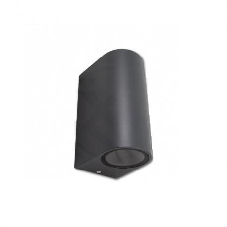 Sieninis LED lauko šviestuvas - Wand-2a pilkas