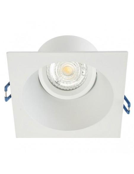 Rėmelis LED lemputei į lubas - BORA baltas matinis reguliuojamas