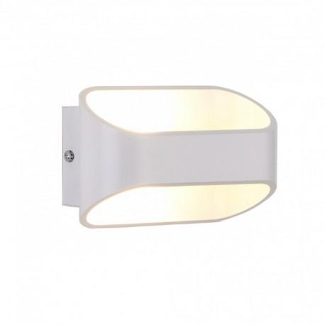 Sieninis LED šviestuvas - White G9