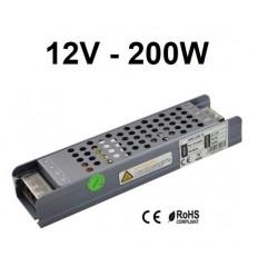 LED maitinimo šaltinis 12V - 200W