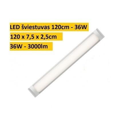 LED šviestuvas - Panel Slim 36W - 6000K