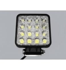 LED darbo žibintas 48W - 16 LED