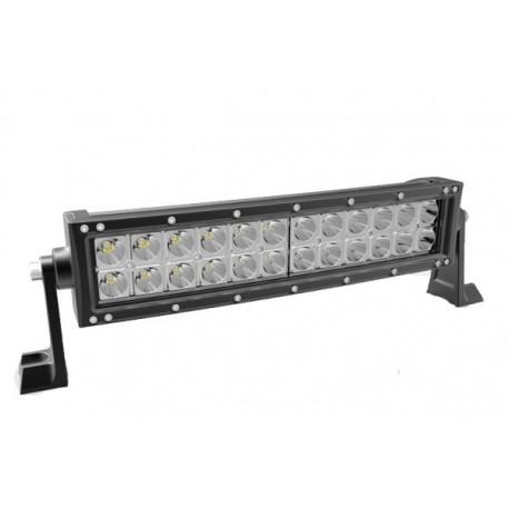 LED darbo žibintas Off road 72W - lenktas