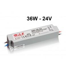 LED maitinimo šaltinis 12V - 36W - IP67