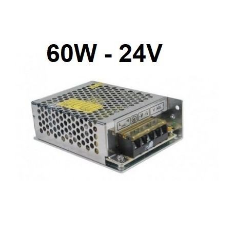 LED maitinimo šaltinis - 60W - 24V