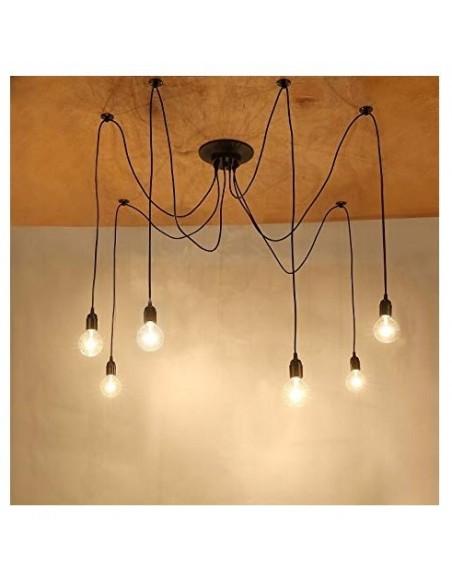 RETRO stiliaus LED šviestuvas - Voras Spider 6