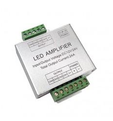 RGBW LED juostos stiprintuvas 12V/24V - 6 x 4A