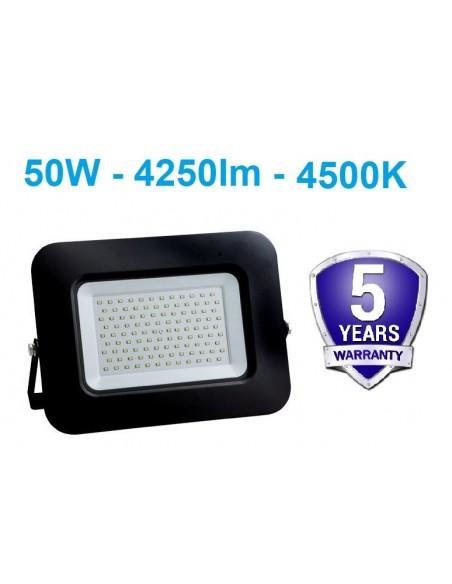 LED prožektorius 50W - DW- Garantija 5m