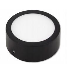 Virštinkinė LED panelė - 6W juoda