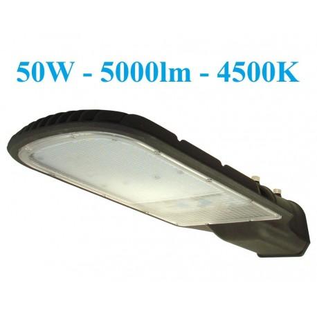 LED gatvės šviestuvas - 50W - 5000lm - 4500K