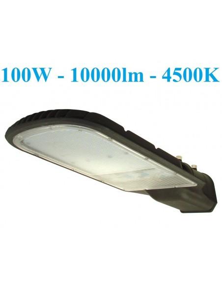 LED gatvės šviestuvas - 100W - 10000lm - 4500K