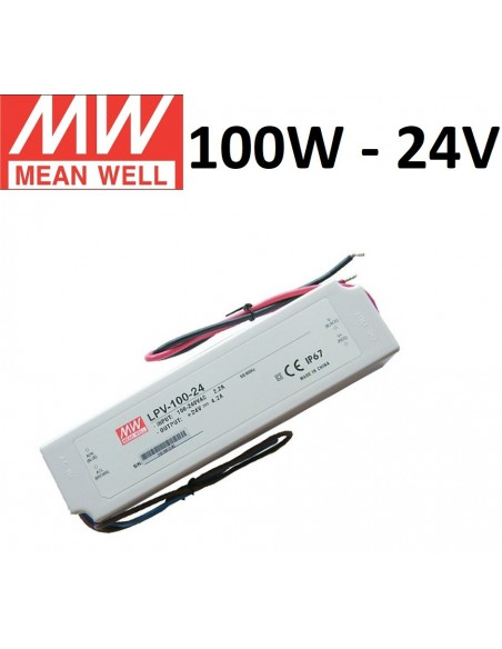 Profesionalus Mean Well LED maitinimo šaltinis LPV-100W-24V
