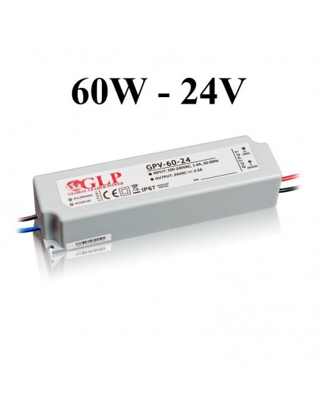 LED maitinimo šaltinis 60W-24V