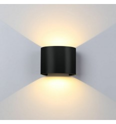 LED šviestuvas - Lumi Adjustable 6W Black-R