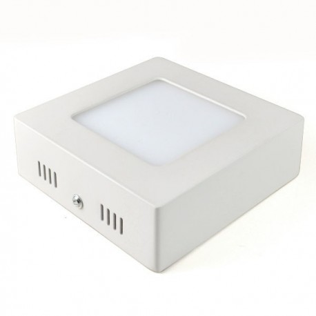 Virštinkinė LED panelė - 6W kvadratas