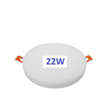 Berėmė  LED panelė - 22W - WW